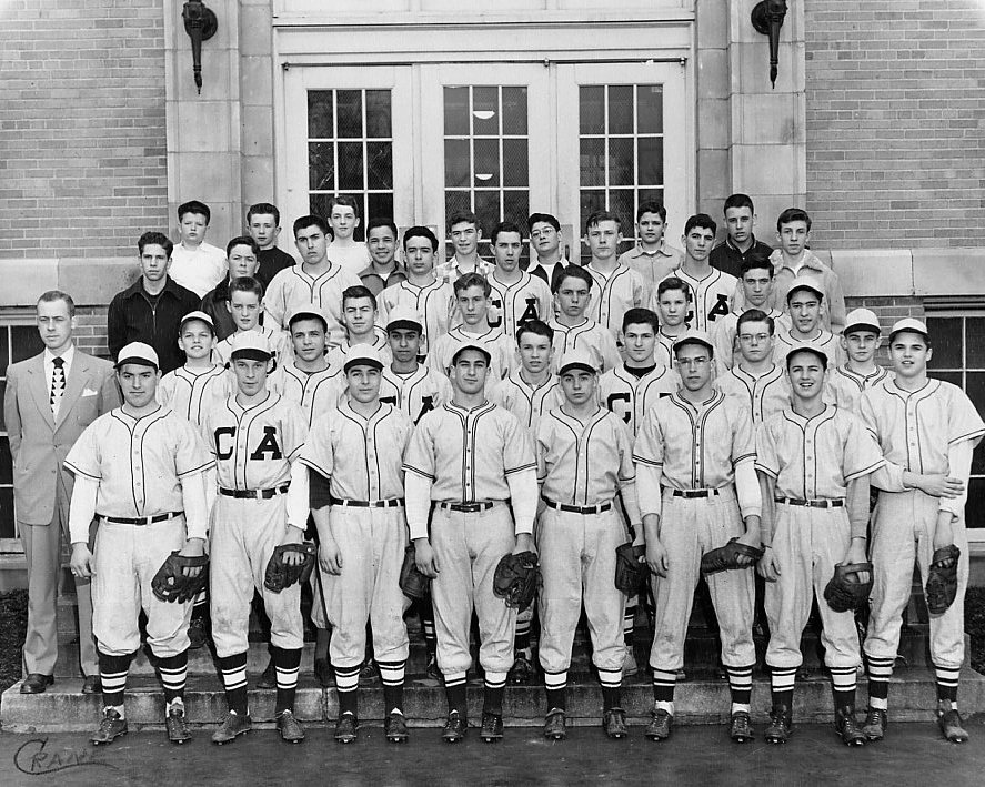 Canandaigua Academy baseball team 1951