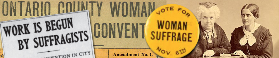 Women's Suffrage in Ontario County