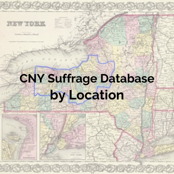 CNY Suffrage Database by Location