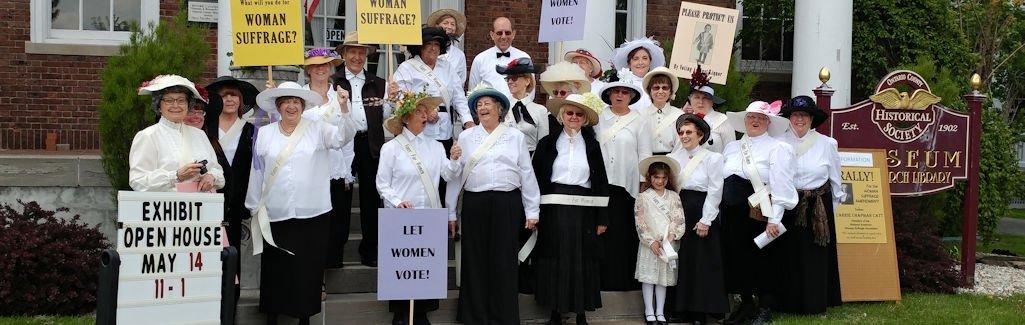 XIX Amendment Suffrage Mini Exhibit