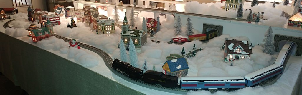Holiday Model Railroad Exhibit